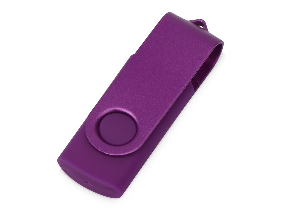 Флеш-карта USB 2.0 8 Gb Квебек Solid, фиолетовый