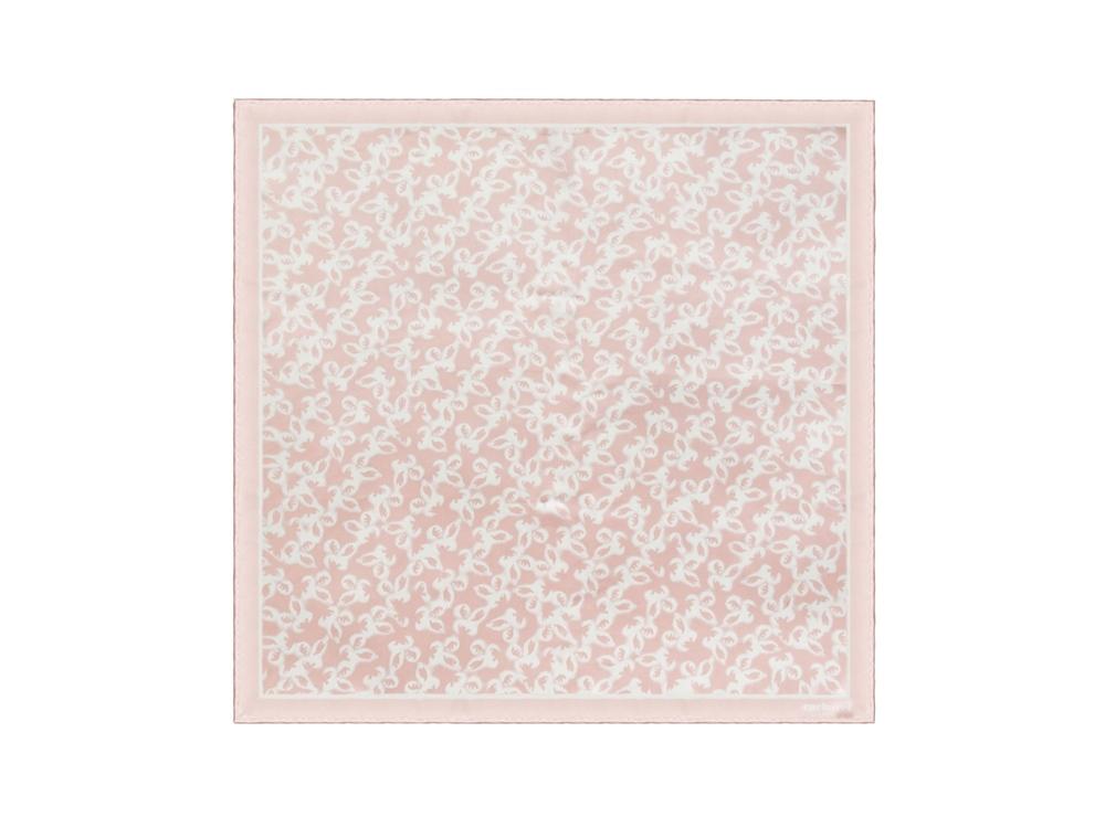 Шелковый платок Hirondelle Light Pink