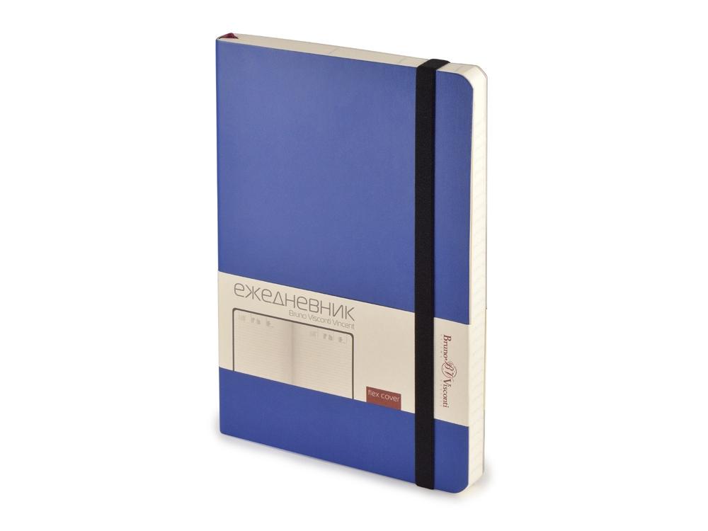 Ежедневник недатированный А5 Vincent, ярко-синий