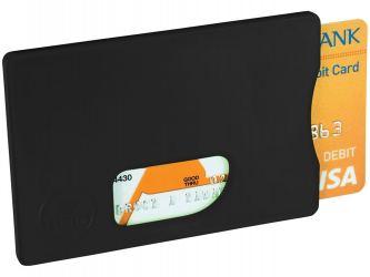 Защитный RFID чехол для кредитной карты, черный