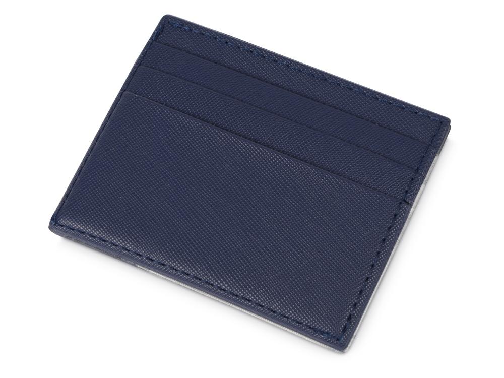 Чехол для карточек и купюр Weekend из ПВХ, темно-синий