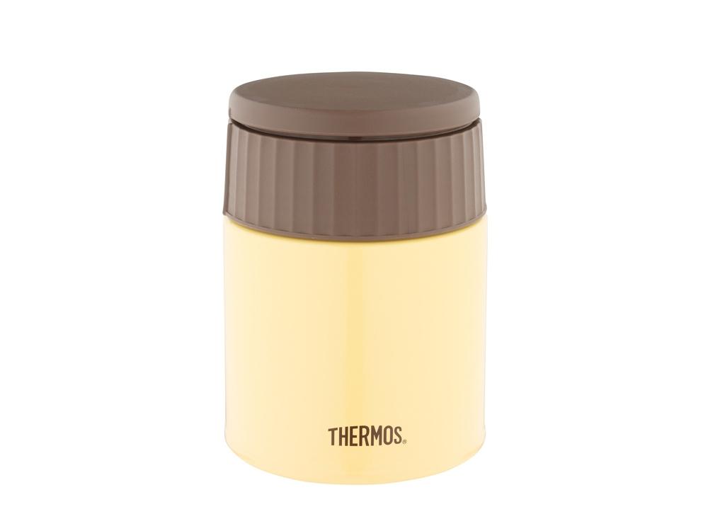 Термос из нерж. стали для еды тм THERMOS JBQ-400-BNN 0.4L, желтый