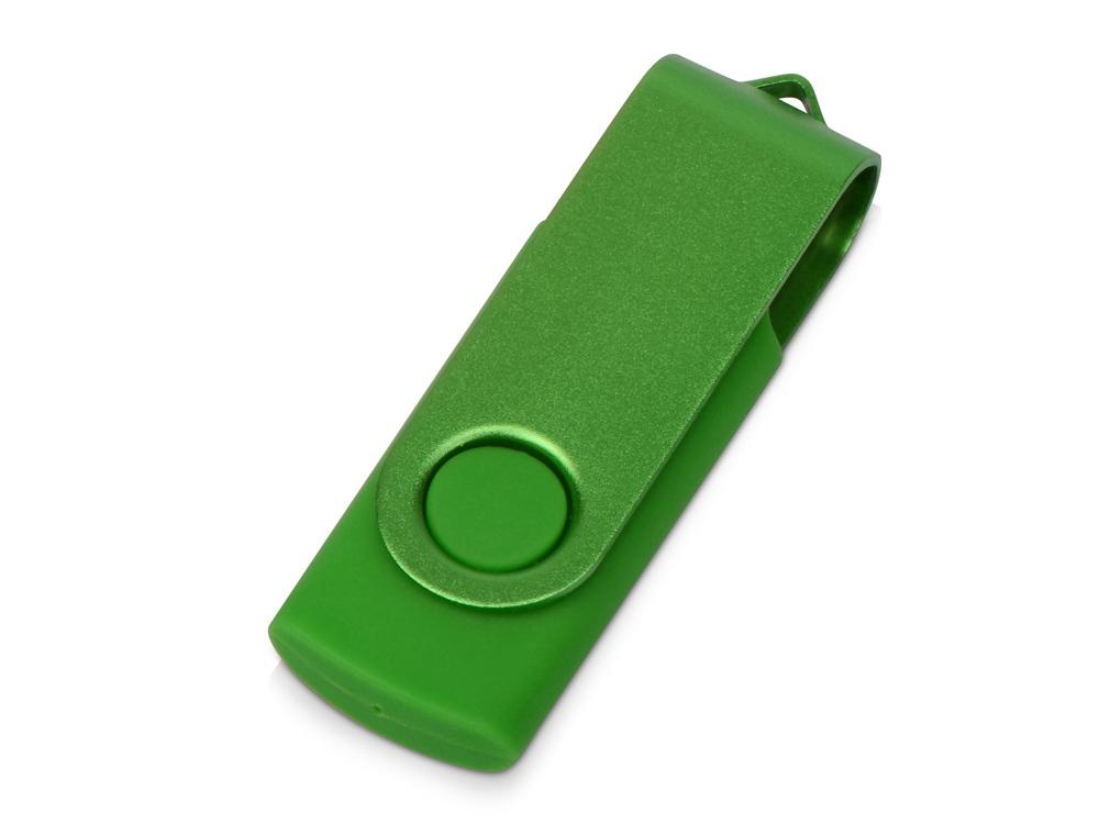 Флеш-карта USB 2.0 8 Gb Квебек Solid, зеленый