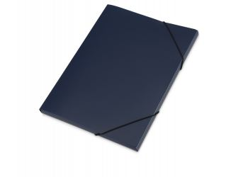 Папка формата А4 с резинкой, синий