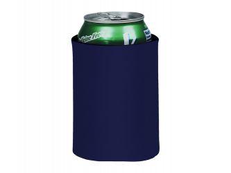 Складной держатель-термос Crowdio для бутылок, темно-синий