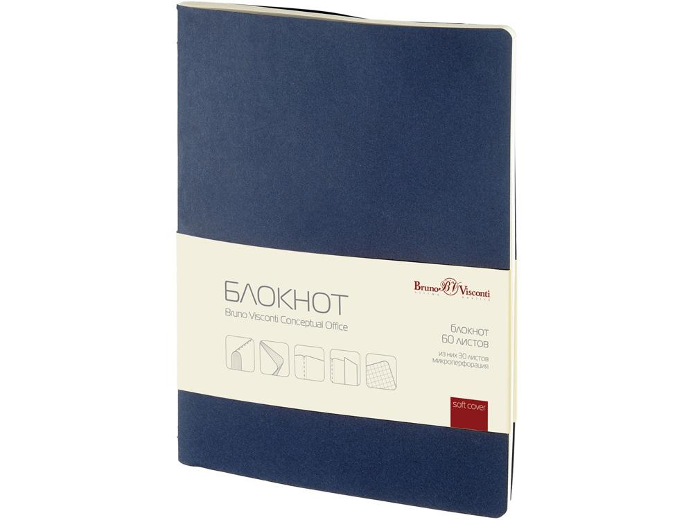 Бизнес – блокнот А4- (188 х 250 мм) Conceptual Office 60 л., синий