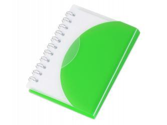 Блокнот А7 Post, зеленый