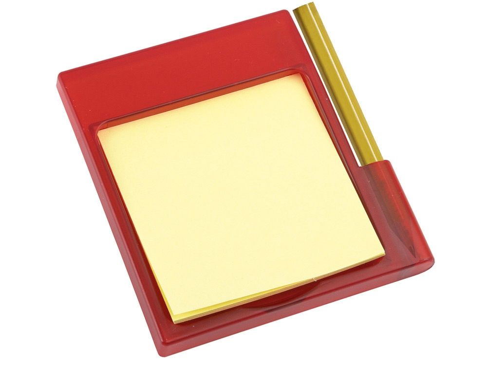Подставка на магните Для заметок, красный