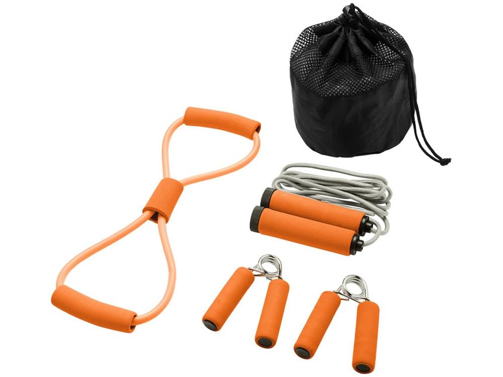 Набор для фитнеса Dwayne, оранжевый