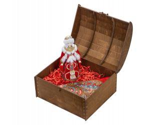 Подарочный набор Софья: кукла, платок