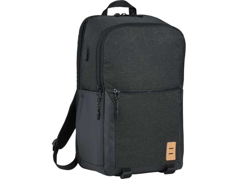 17-дюймовый рюкзак Camden для ноутбука, темно-серый