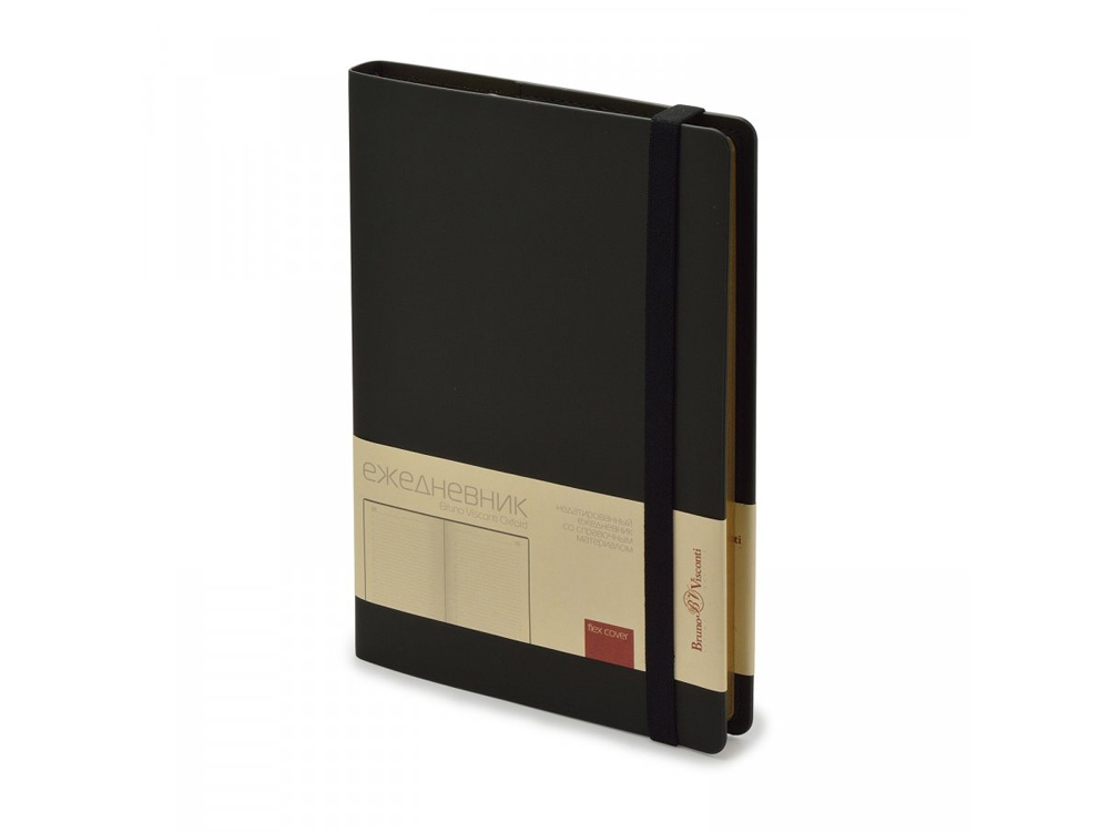 Ежедневник недатированный А5  Oxford, черный
