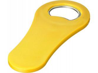 Магнитная открывалка для бутылок Rally, желтый