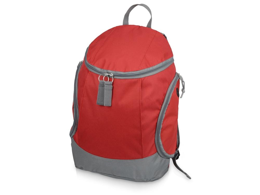 Рюкзак Jogging, красный/серый (Р)