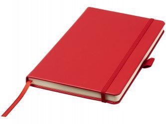 Записная книжка Nova форматаA5 с переплетом, красный