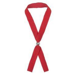 Промо-браслет MENDOL, 34,5х1,2см, красный, полиэстер