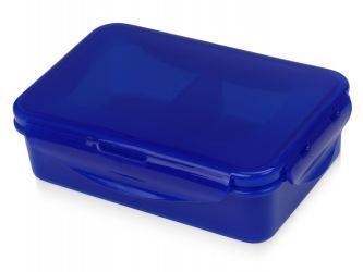 Ланч-бокс Foody с 2 секциями 650мл, синий