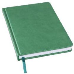 Ежедневник недатированный Bliss, А5,  зеленый, белый блок, без обреза