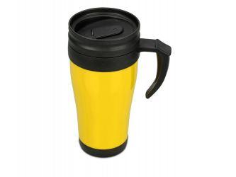 Кружка с термоизоляцией Silence 350мл, желтый