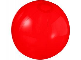 Мяч пляжный Ibiza, красный прозрачный