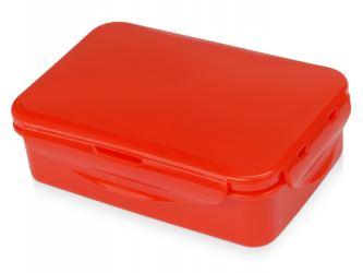 Ланч-бокс Foody с 2 секциями 650мл, красный