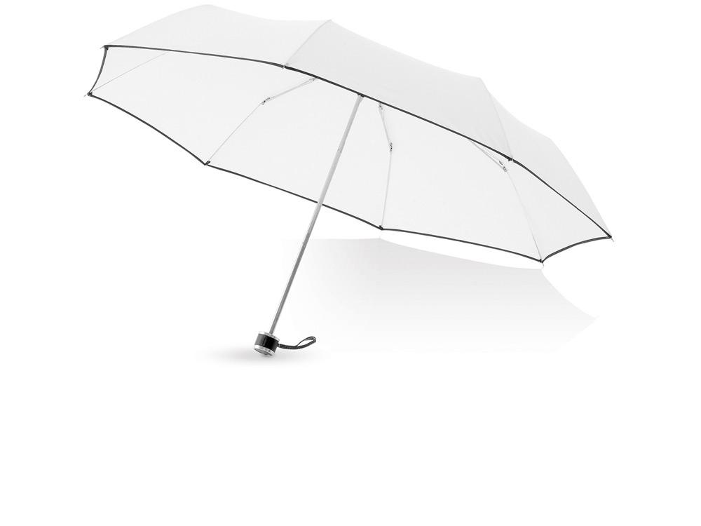 Зонт складной Линц, механический 21, белый (Р)