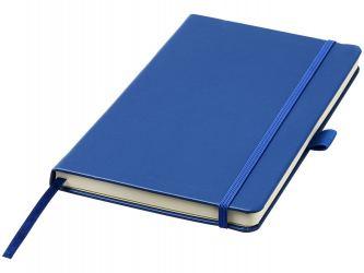 Записная книжка Nova форматаA5 с переплетом, cиний
