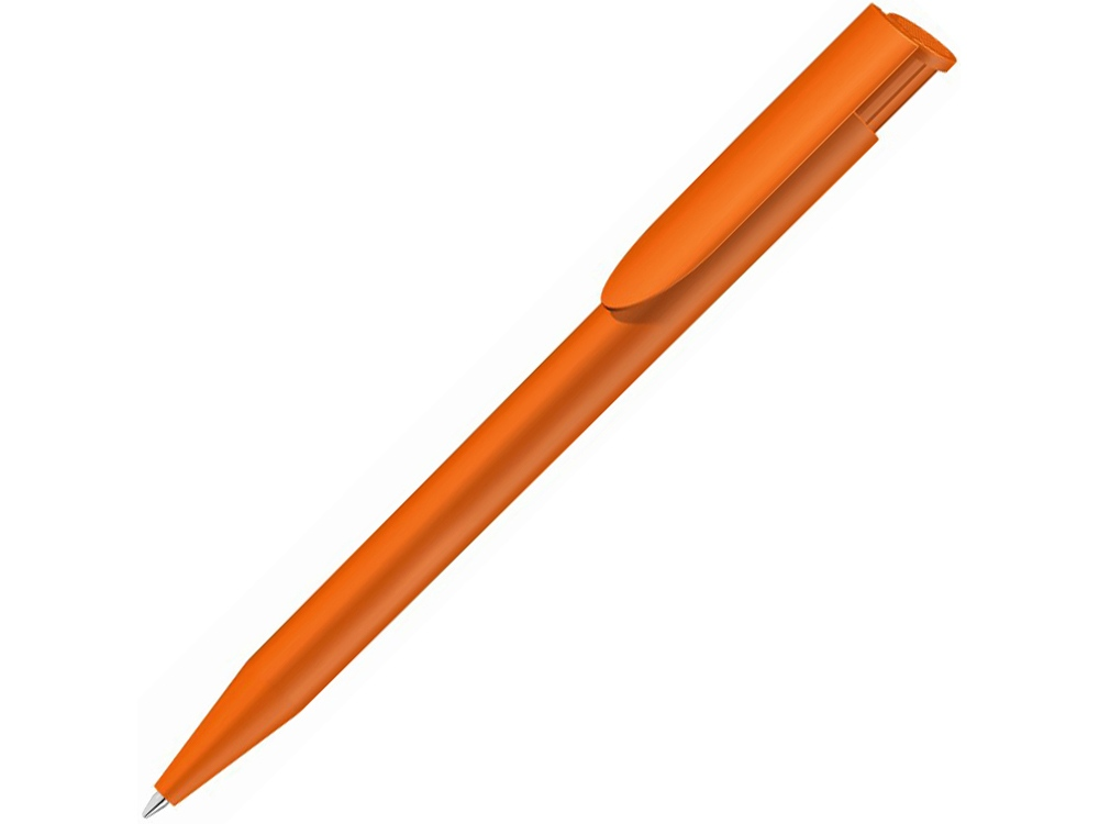 Ручка пластиковая шариковая  UMA Happy, оранжевый
