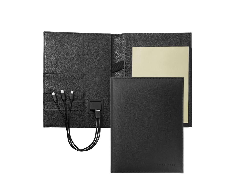 Папка формата А5 + портативное зарядное устройство Storyline Black