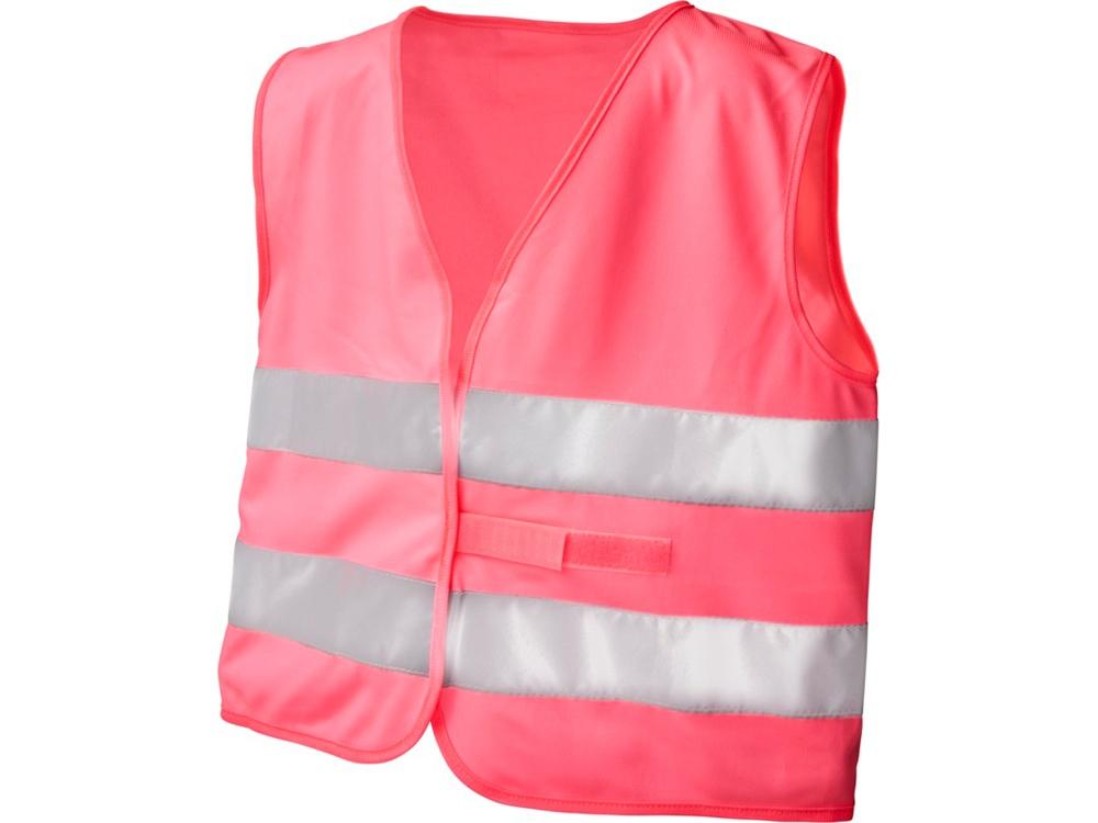 Защитный жилет See-me-too для непрофессионального использования,  неоново-розовый