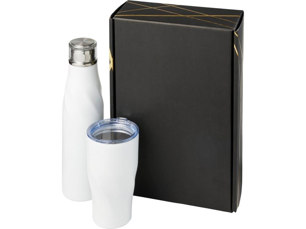 Подарочный набор Hugo из медных предметов с вакуумной изоляцией, белый
