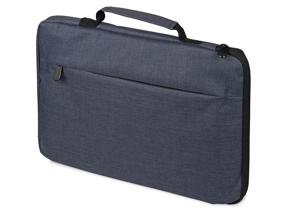 Сумка для ноутбука 13   Flank с боковой молнией, синий
