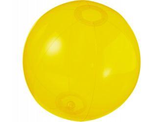 Мяч пляжный Ibiza, желтый прозрачный