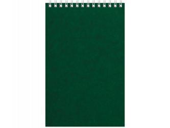 Бизнес - блокнот Альт А5 (127 х 198 мм) Office 60 л., зеленый