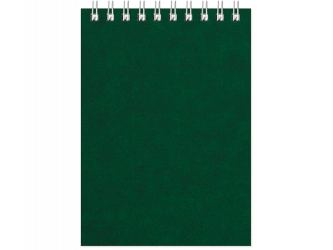 Бизнес - блокнот Альт А6 (94 х 130 мм) Office 60 л., зеленый