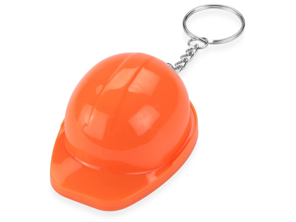 Брелок-открывалка Каска, оранжевый