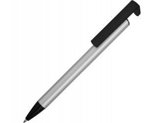 Ручка-подставка шариковая Кипер Металл, серебристый