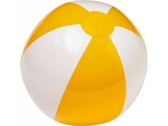 Пляжный мяч Palma, желтый/белый