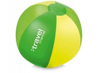 Мяч надувной пляжный Trias, зеленый