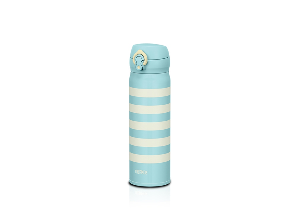 Термос из нерж. стали тм THERMOS JNL-502-WBD ,SS V.Insulated Flask,500ml, голубой