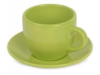 Чайная пара Melissa керамическая, зеленое яблоко