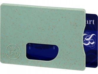 Чехол для карт RFID Straw,  мятный