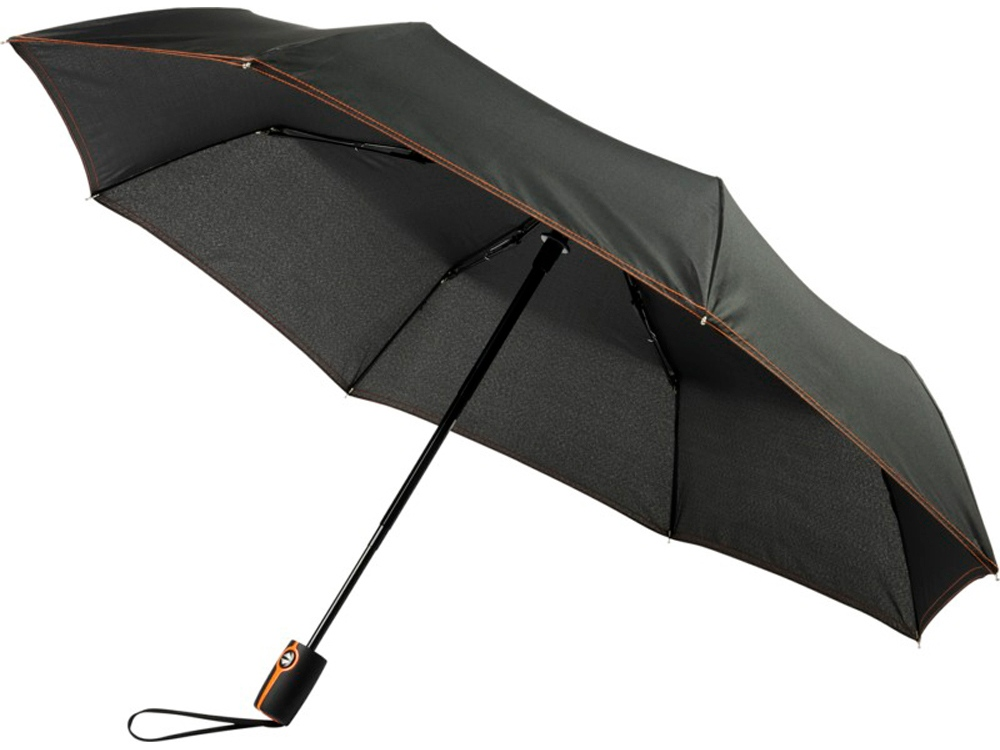 Автоматический складной зонт Stark-mini, оранжевый