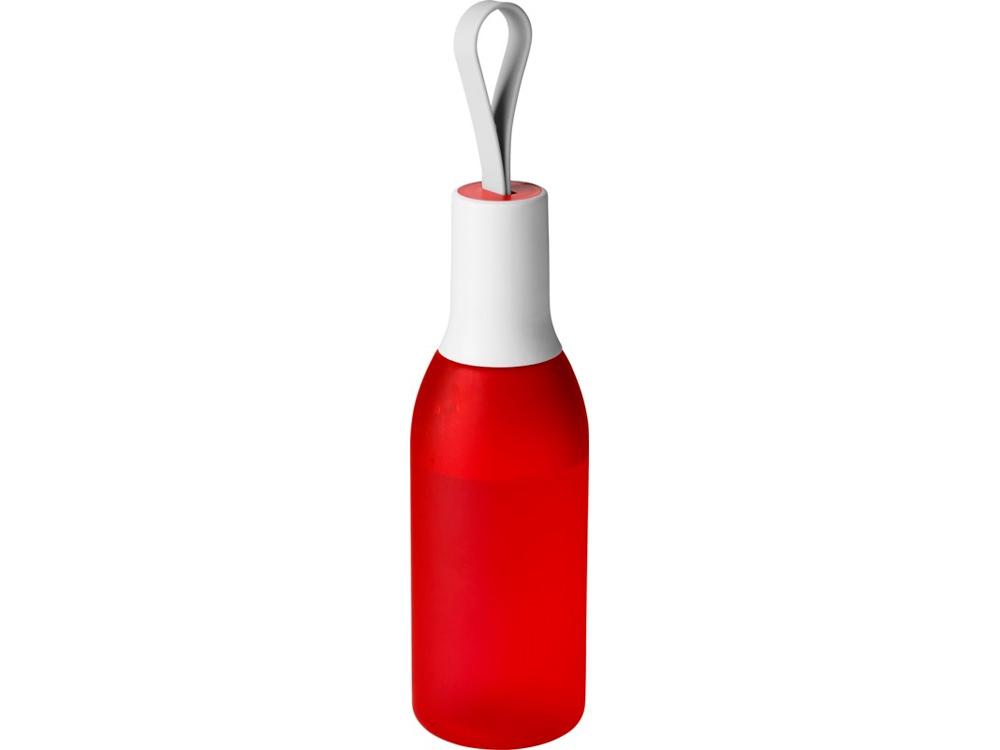 Бутылка Flow, красный матовый