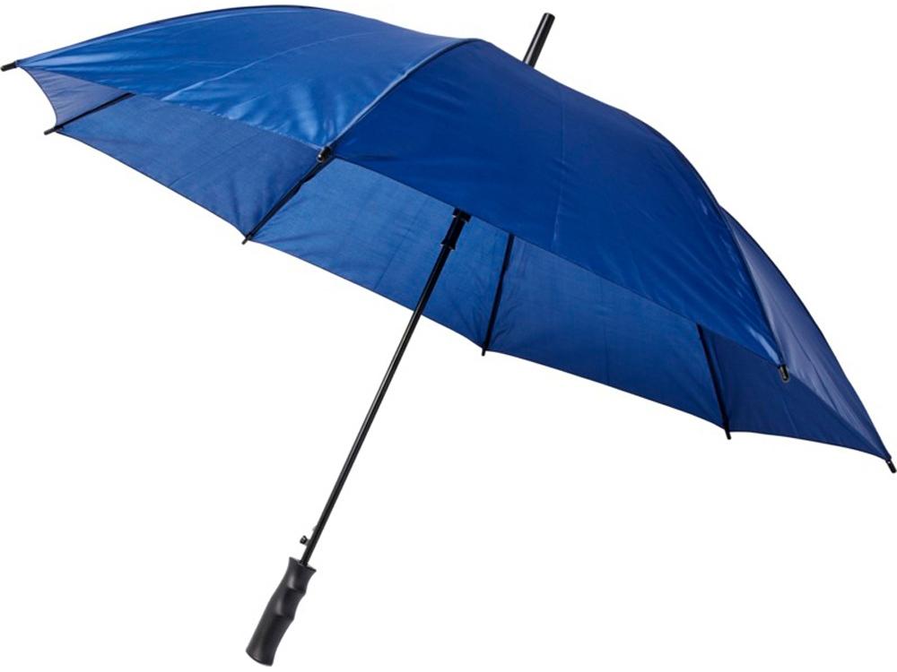 23-дюймовый ветрозащитный полуавтоматический зонт Bella, темно-синий