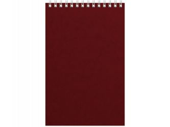 Бизнес - блокнот Альт А5 (127 х 198 мм) Office 60 л., бордовый