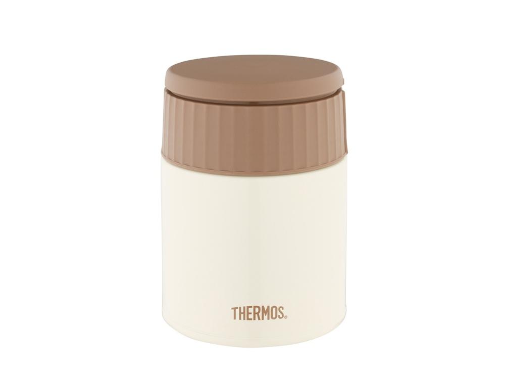 Термос из нерж. стали для еды тм THERMOS JBQ-400-MLK 0.4L, белый