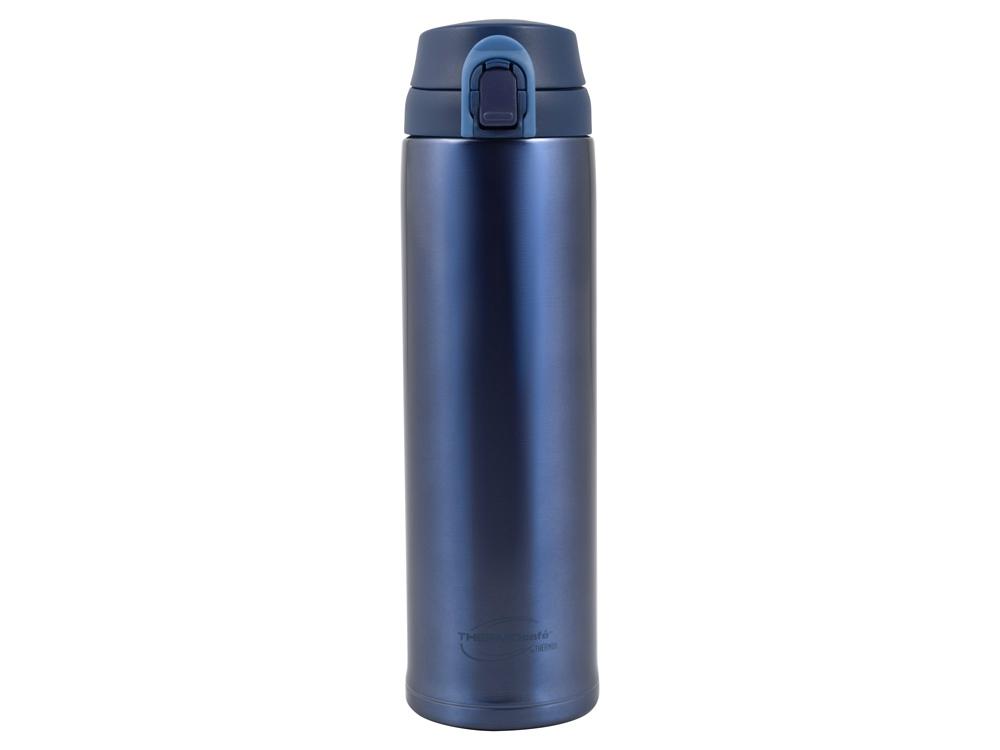 Термос из нерж. стали тм ThermoCafe ТС-600T (Blue), 0.6L, синий