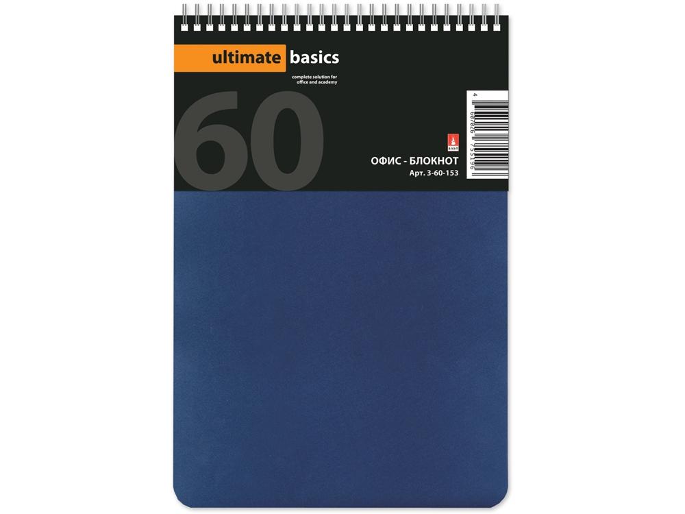 Бизнес – блокнот А5 (135 х 198 мм.) Офис-Лайн 60 л., синий