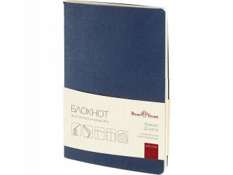 Бизнес - блокнот А6 (105 х 148 мм) Conceptual Office 32 л., синий
